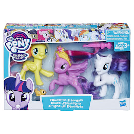 MLP Equestria Friends Rarity Brushable Pony