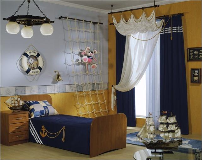 Nautical Theme for Boys Bedrooms ~ Room Design Ideas