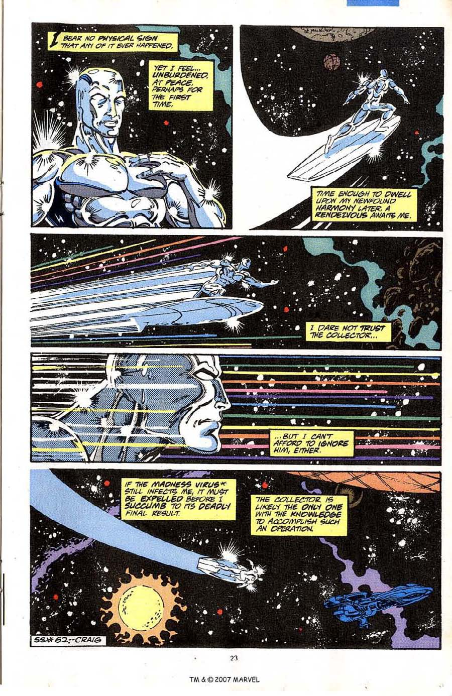 Read online Silver Surfer (1987) comic -  Issue #64 - 25