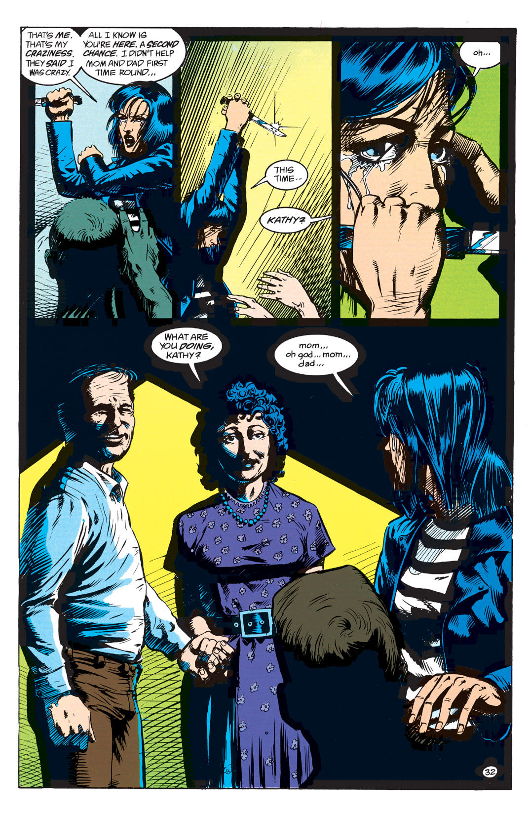 Read online Shade, the Changing Man comic -  Issue #1 - 34