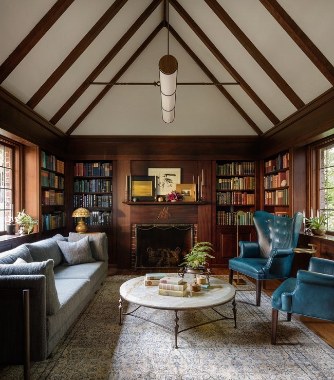 Mix And Chic: Inside A Charming Historic Tudor Home With A