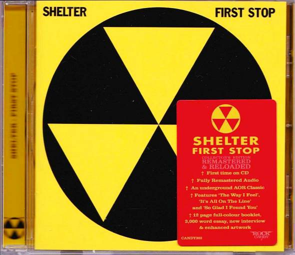 SHELTER- First Stop [Rock Candy remaster] (2018) full