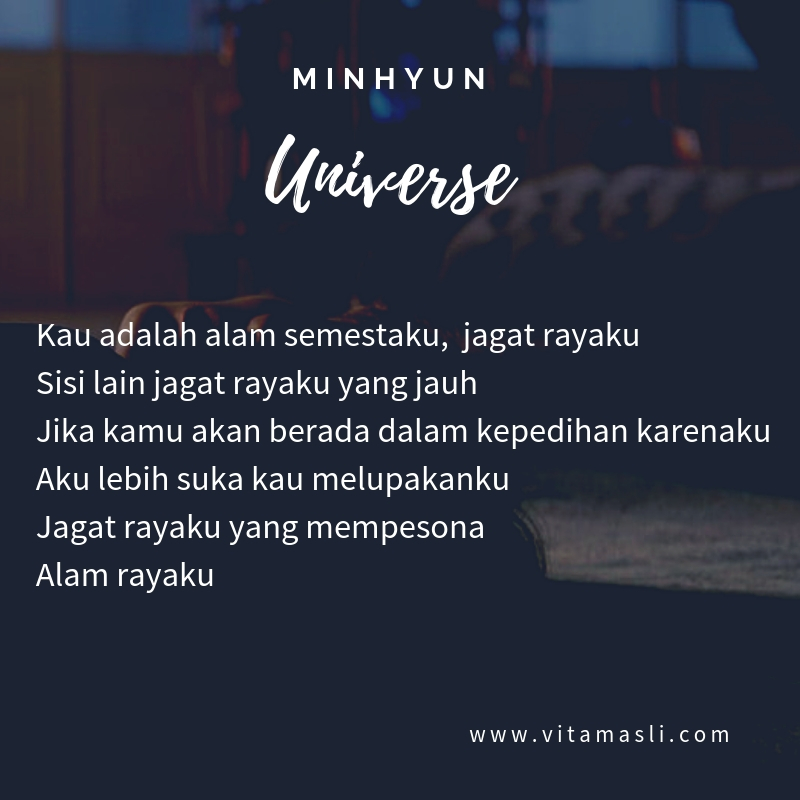 Minhyun Universe Lirik