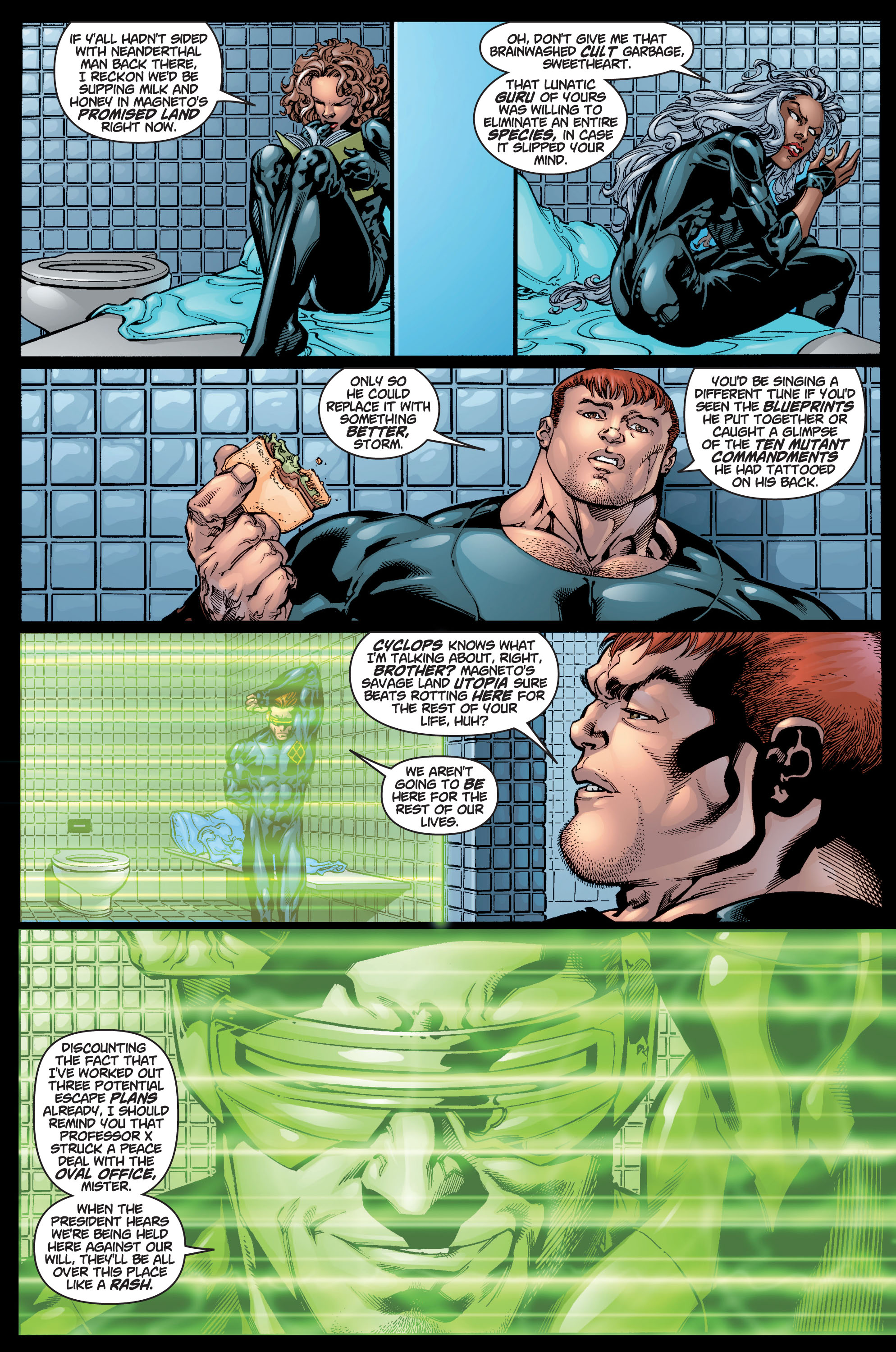 Read online Ultimate X-Men comic -  Issue #9 - 17