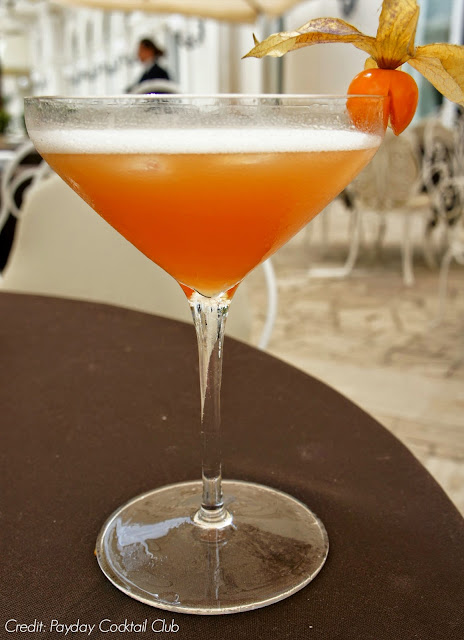 Cocktails at the Grand Hotel Rimini Italy