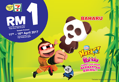 7-Eleven Malaysia MatKool Panda Ice Cream Discount Promo
