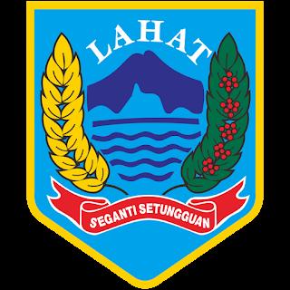 Logo Kabupaten Lahat  Vector CDR CorelDraw