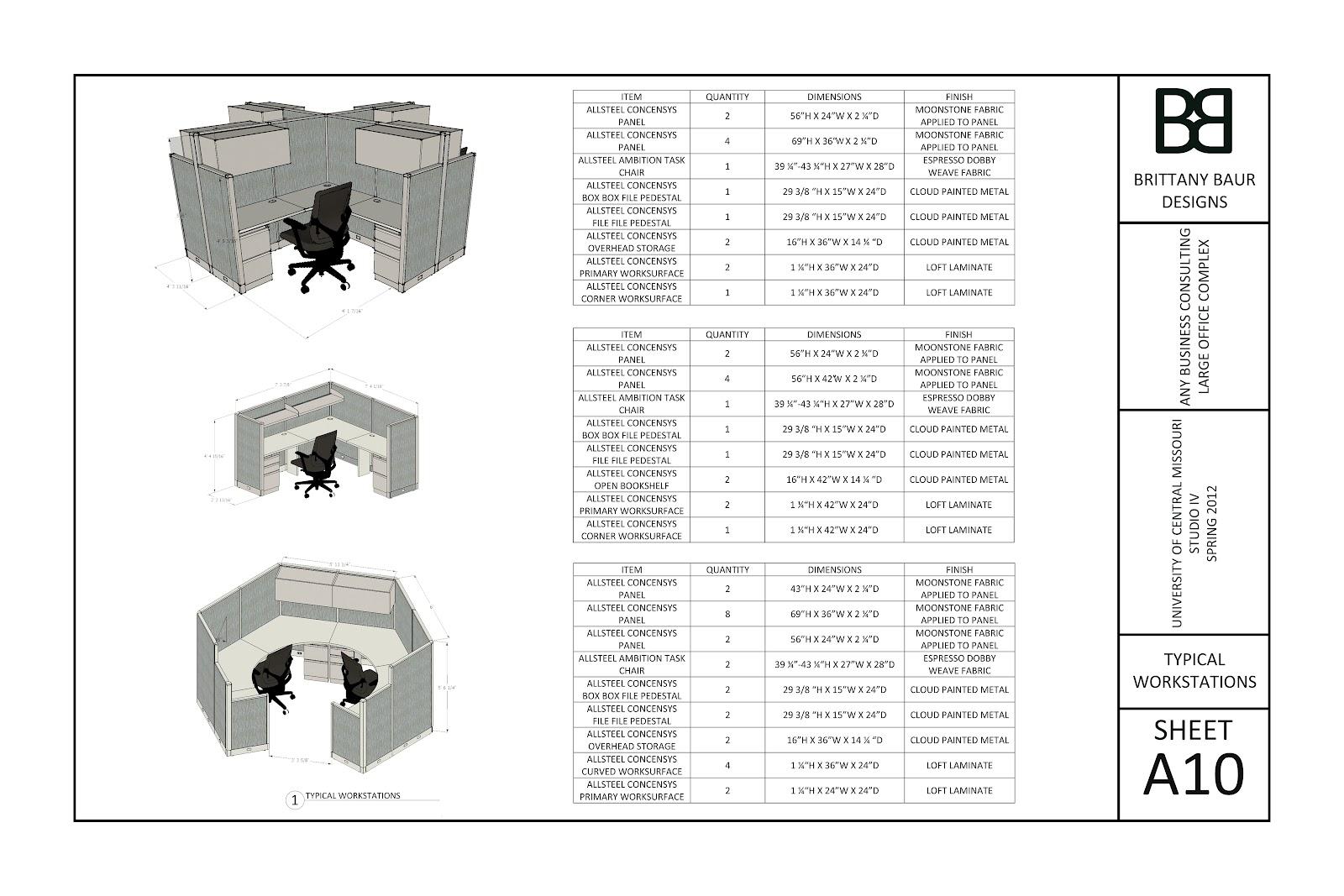 Brittany Baur Designs: Interior Design Work