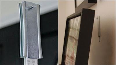 suporte metálico para pendurar quadros