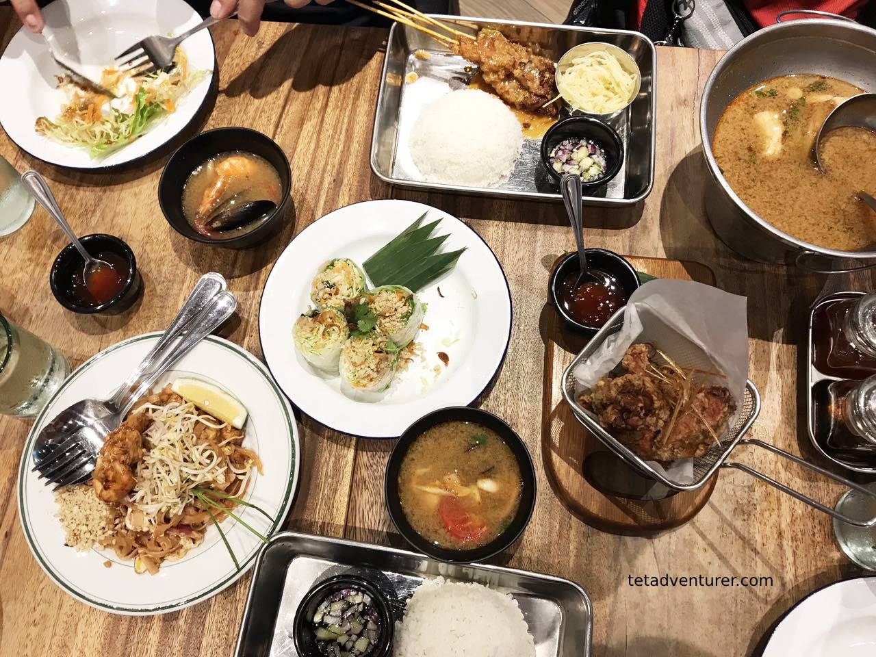 Cuisines With Spicy Food Tetadventurer Blog Thai Lovin At Easy Tiger In Uptown Mall Bgc