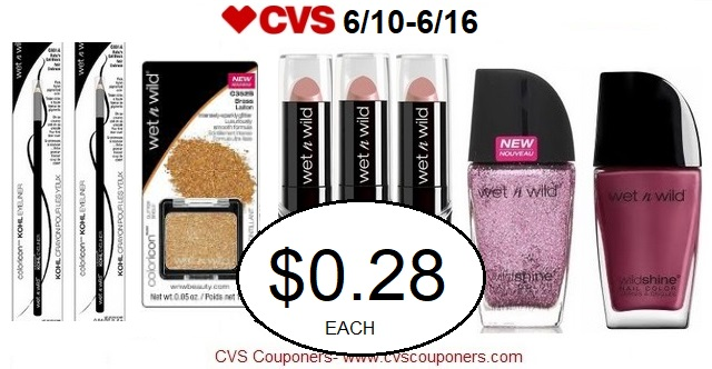 http://www.cvscouponers.com/2018/06/hot-pay-028-for-select-wet-n-wild.html