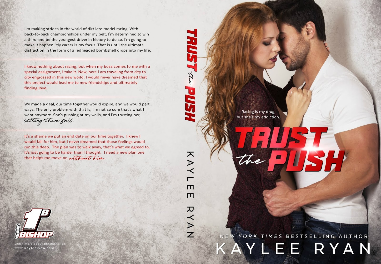 Trust the Push by Kaylee Ryan Cover Reveal | | Sultry Sirens Book Blog