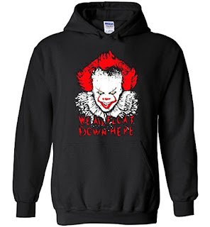 Stephen King It 201, Pennywise, Hoodie, Stephen King Hoodie, Stephen King Store
