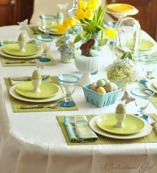 Wonderfull Easter Decorations Table Design Ideas: Easter Table Settings And Decorating Ideas