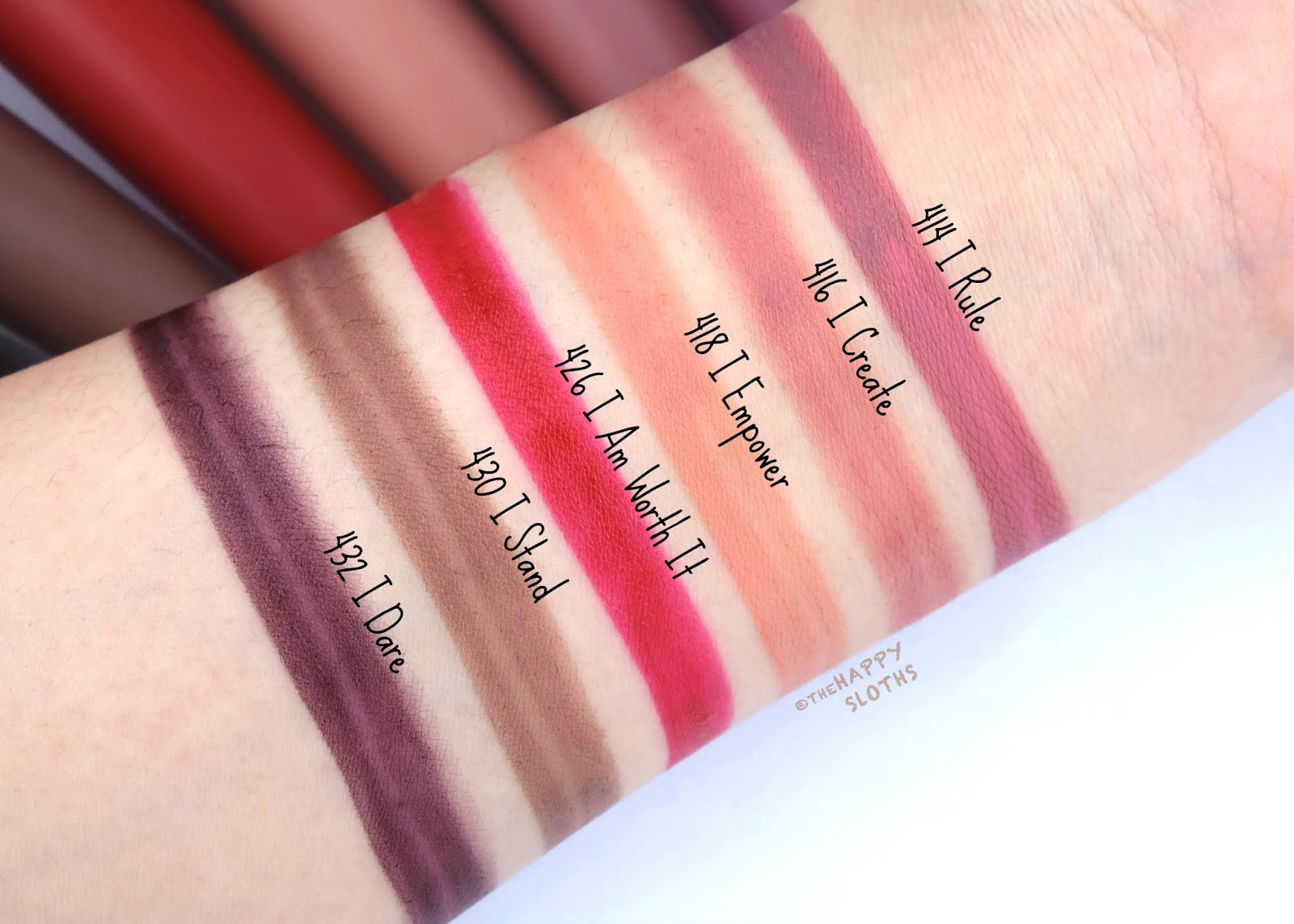 L'Oreal | Rouge Signature Matte Liquid Lipstick: Review and Swatches