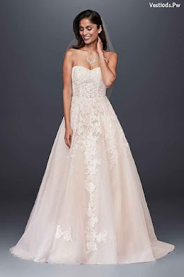 vestidos de novia color crema