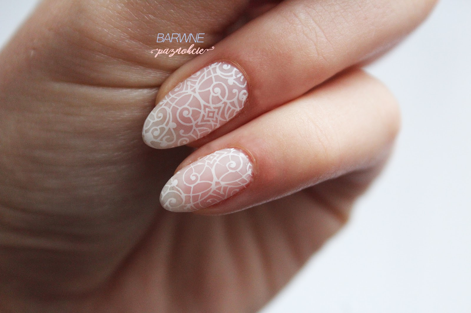 Semilac 157 - Little Rosie | Pudrowy manicure