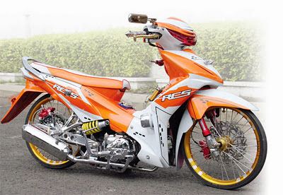 Honda Absolute Revo Modifikasi