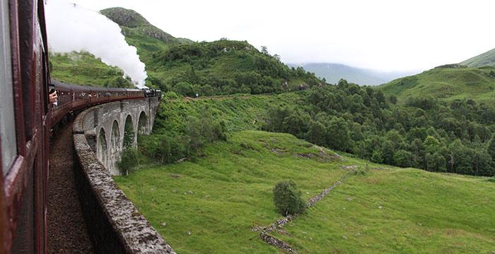 Escocia, Harry Potter, Hogwarts Express, The Jocobite, tren de Harry Potter, viaducto de Glenfinnan,