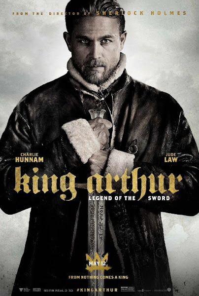 Poster of King Arthur Legend of the Sword 2017 English 720p BluRay ESubs Download