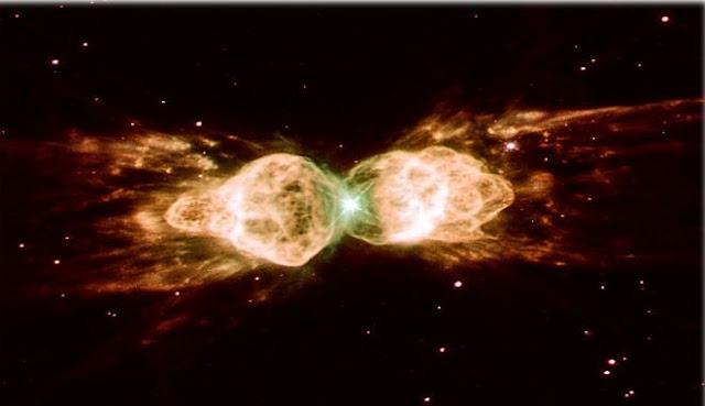 شعاع,ليزر,سديم,سديم النملة,الفضاء,النجوم,الغبار,الضوء,دونالد مينزل