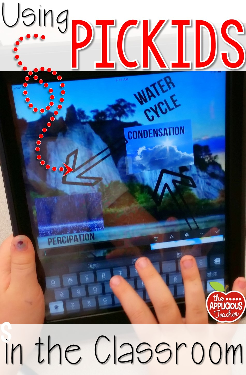 creating digital posters with pickids the applicious teacher