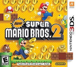 New Super Mario Bros. 2 Gold Edition cover