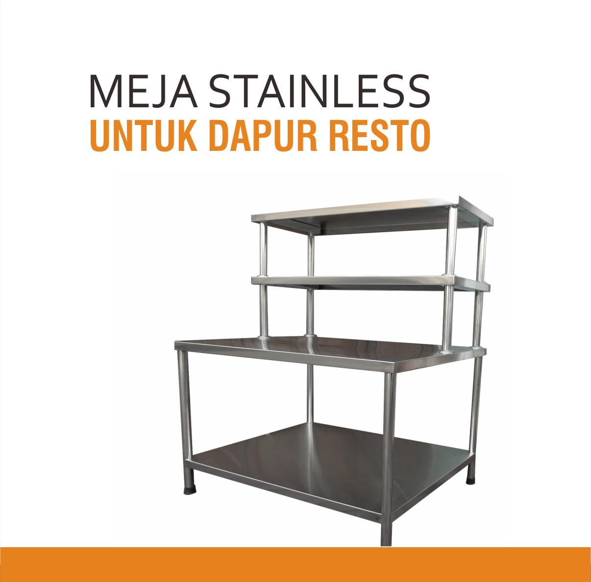 Harga Meja Dapur Stainless Steel Desainrumahid com