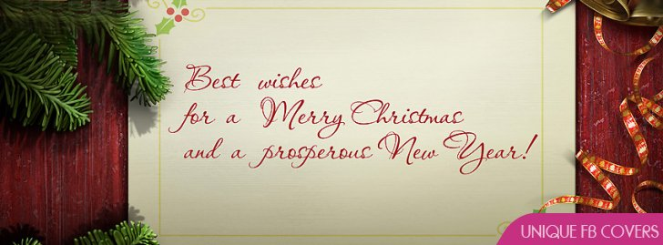 Merry Christmas Wishes Facebook cover photos and Twitter Images