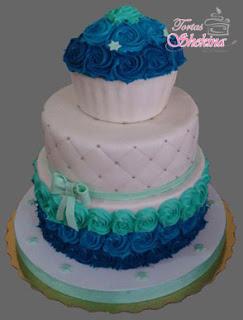 torta para baby shower en caracas