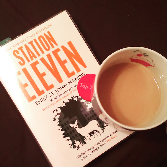 11pm - book and tea before bedtime