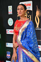 Priya Shree in Beautiful Blue Saree at IIFA Utsavam Awards 2017  Day 2    HD Exclusive Pics 24.JPG