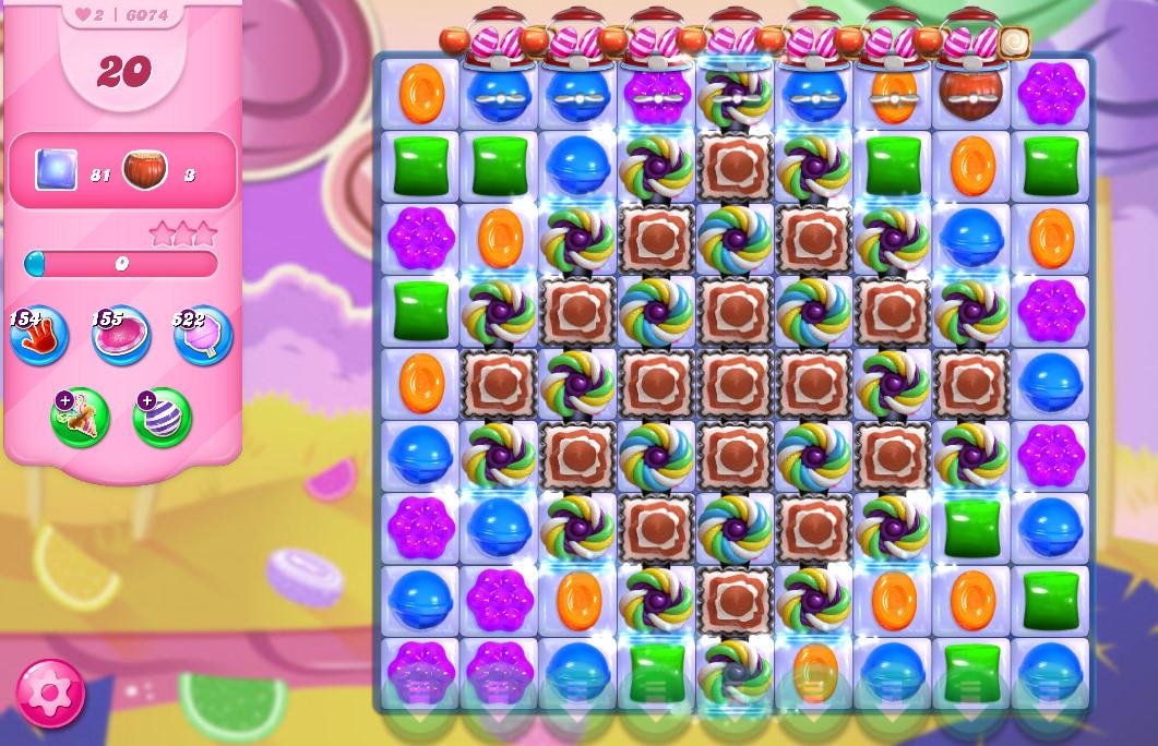 Candy Crush Saga level 6074