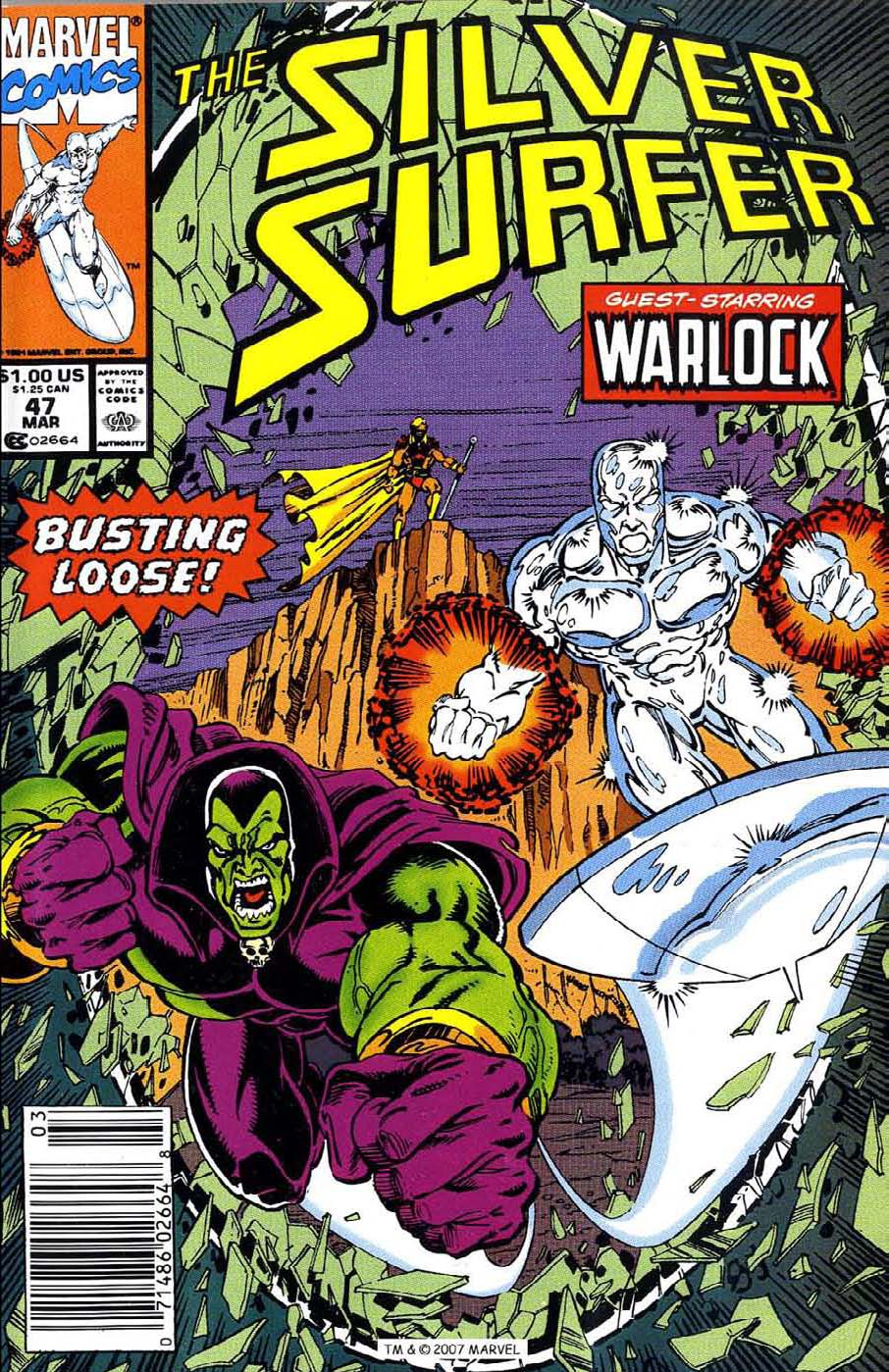 Read online Silver Surfer (1987) comic -  Issue #47 - 1