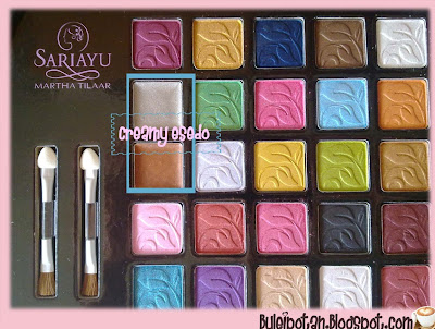 Colors of  SARIAYU 25TH ANNIVERSARY PALETTE