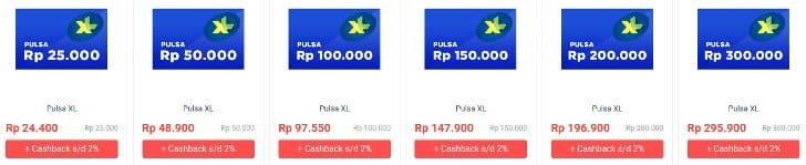 harga-pulsa-xl-shopback