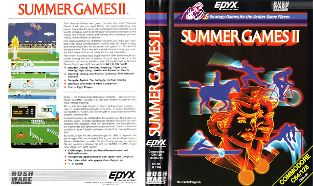 SUMMER GAMES 2IN1 (COMMODORE 64)