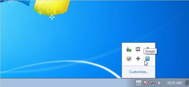 Thu dọn icon trong Notification Area cho win 7 - Notification Area Icons Cleaner for Win 7