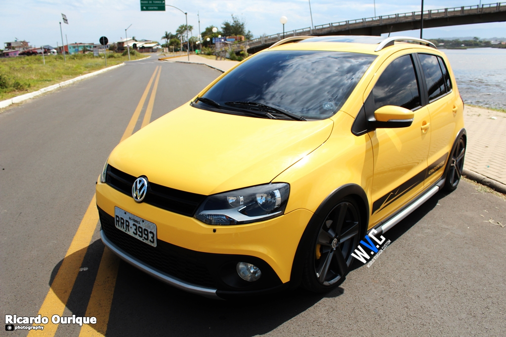 Carro do Internauta: CrossFox + Rodas aro 18""