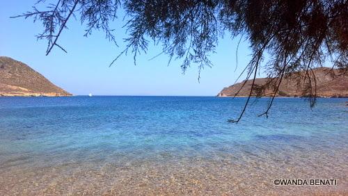 Patmos, l'acqua cristallina di Plakì