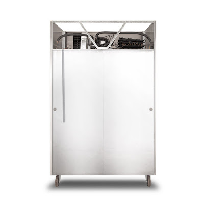 ตู้เย็น 4 ประตู Goshen GT0 ด้านหลัง
