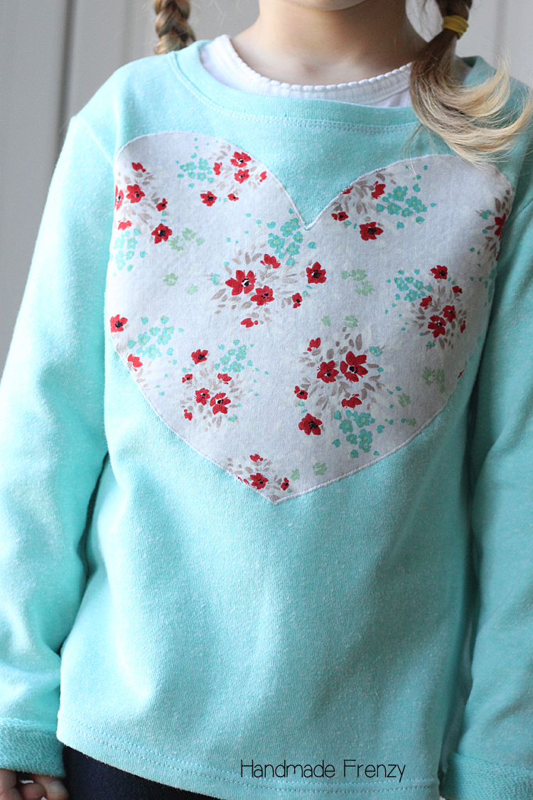 French Terry Nessie Top: Sewn by Handmade Frenzy