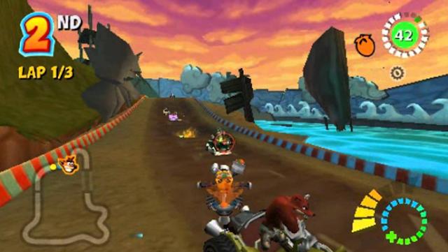 Crash Tag Team Racing PC