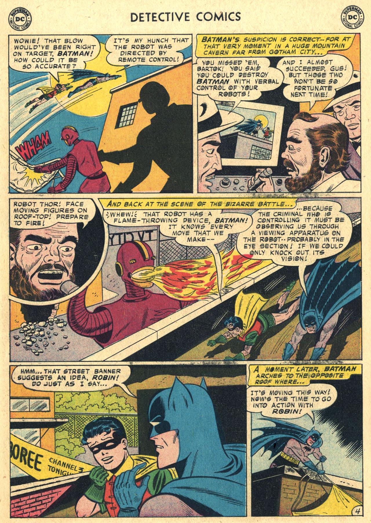Read online Detective Comics (1937) comic -  Issue #258 - 6