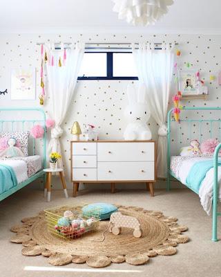 Trick Mendesain Interior Kamar Tidur Anak