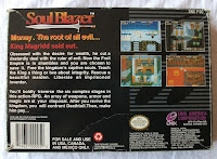 Soul Blazer - Caja detrás