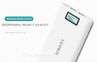 349k - Pin sạc dự phòng  Romoss Sense 6 Plus 20.000mAh LCD chính hãng giá sỉ và lẻ rẻ nhất