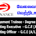 Vacancies in LB Finance