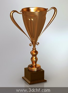 trophy 3d model download