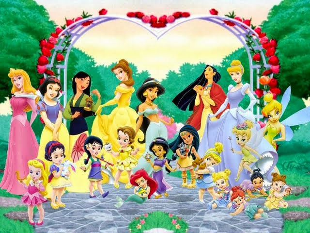 Images Of The Disney Princess Babies Oh My Baby